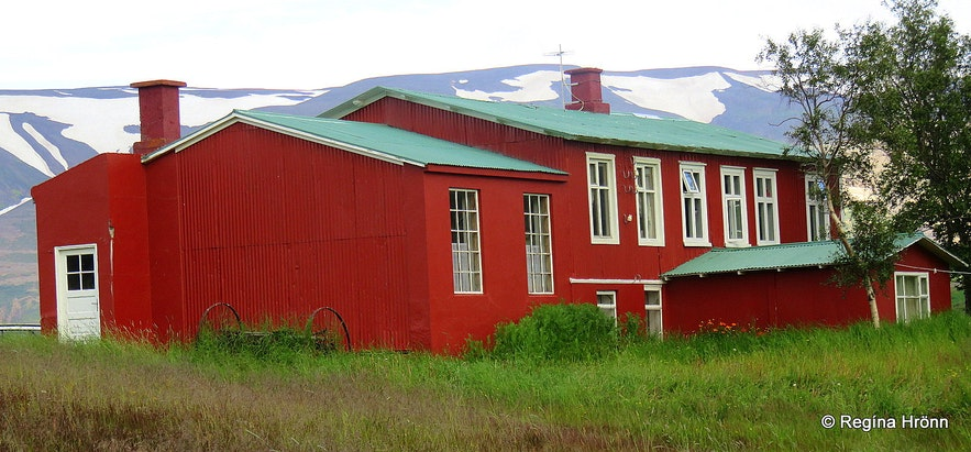 The old boarding school at Skógar in Fnjóskadalur