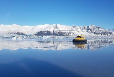 Jokulsarlon Glacier Lagoon Hovercraft Sightseeing Tour