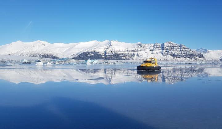 Jokulsarlon Glacier Lagoon Hovercraft Tour