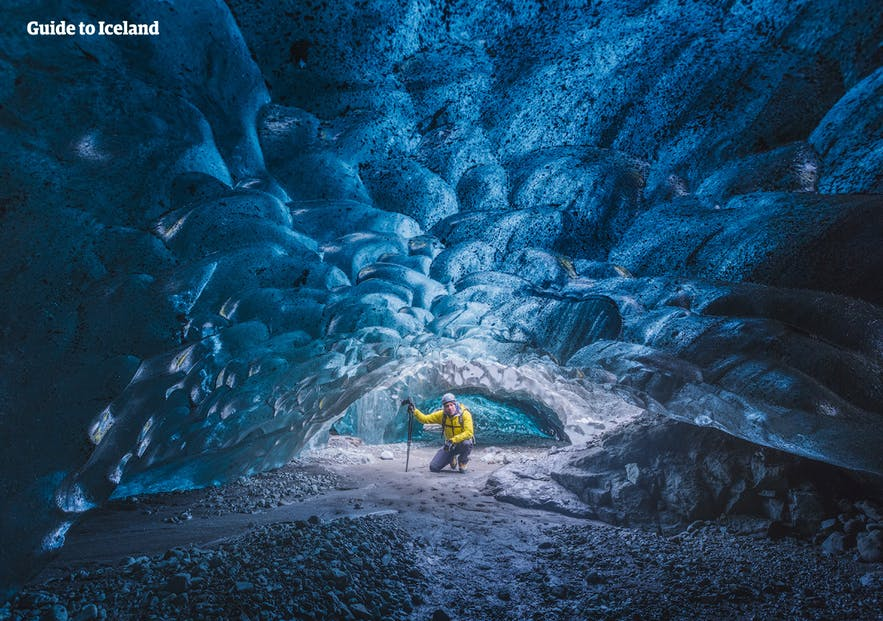 The ice caves in south-east Iceland are a favourite of photographers.