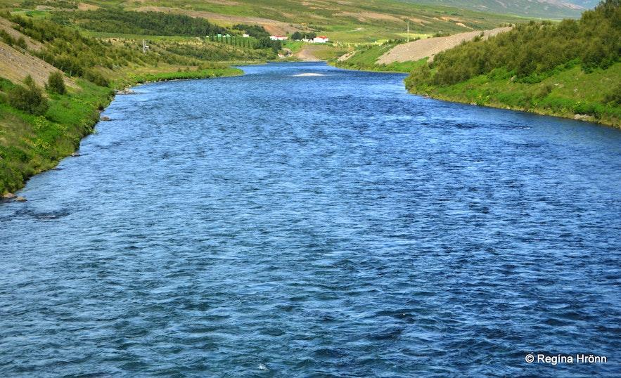 Fnjóská river