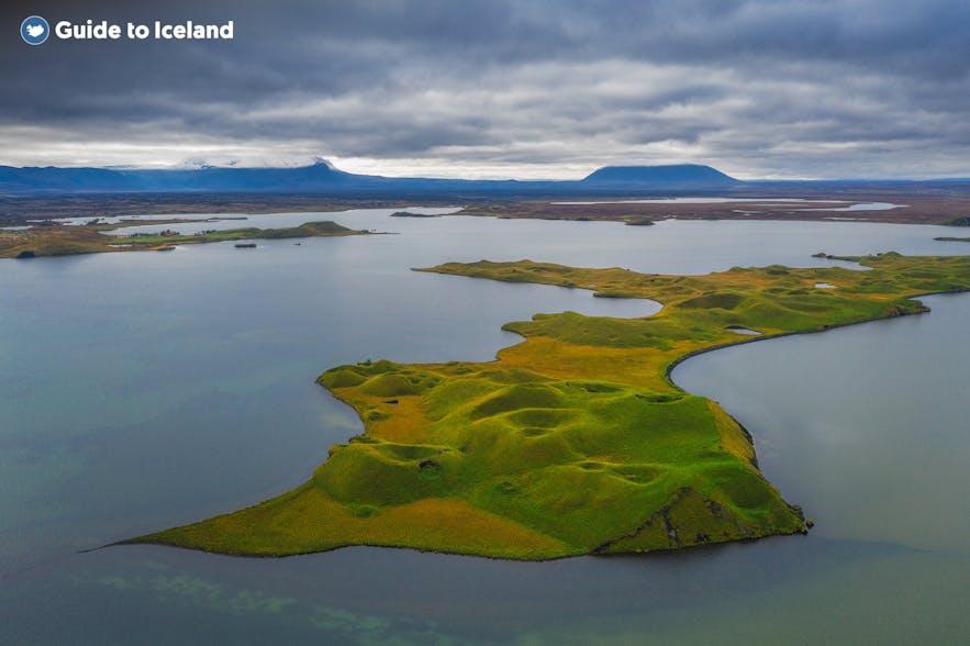 冰岛米湖非常有外星地貌特色