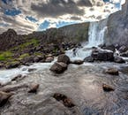 Öxarárfoss waterfall is located within Þingvellir National Park and it's likely to take your breath away.