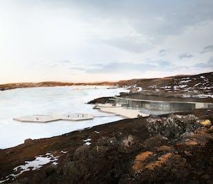 Entrée aux sources chaudes de Vok | Détente dans l'Est au lac Urridavatn