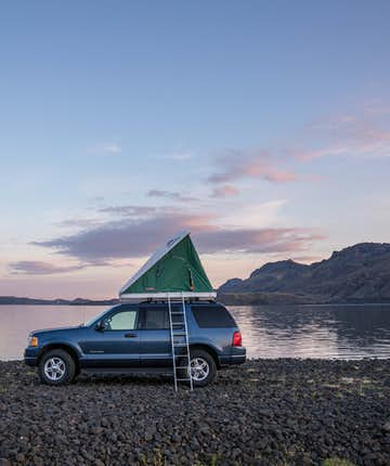 There are a number of vehicle options available for the intrepid camper.