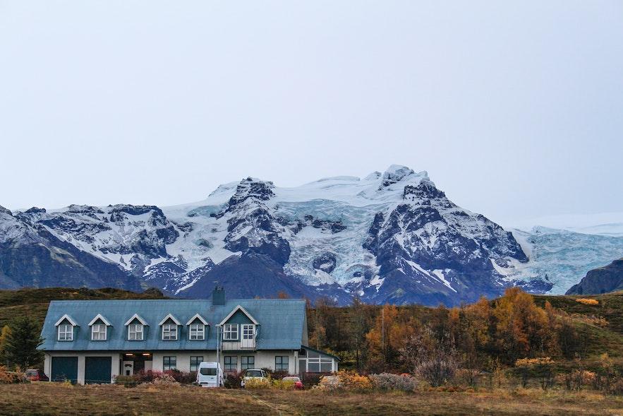 斯卡夫塔山自然保护区是冰岛最受欢迎的徒步地点