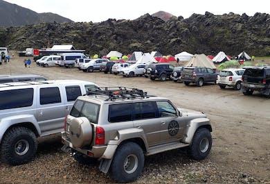 Private Super Jeep Tour to Mount Hekla & Landmannalaugar