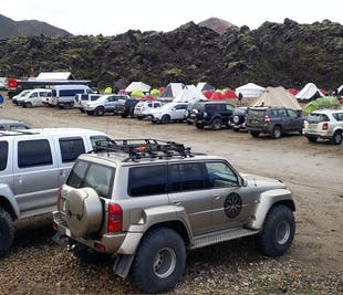 Private Super Jeep Tour to Mount Hekla & Landmannalaugar