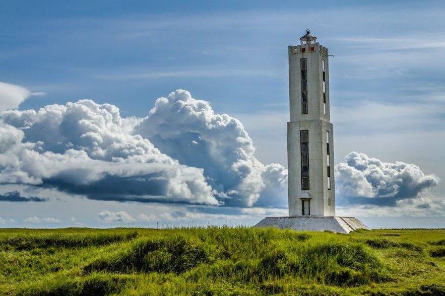 位于冰岛南岸的Knarraros 灯塔