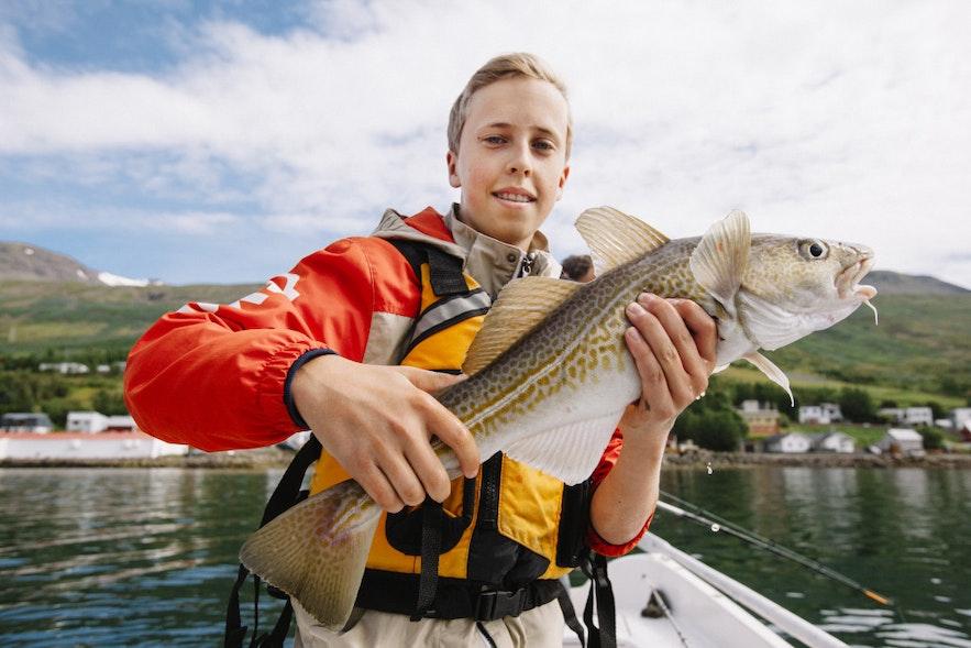 冰岛小镇的居民个个淳朴,捕鱼是每个冰岛人都不陌生的活动