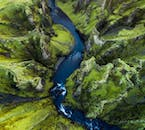 Fjarðárgljúfur is one of the most beautiful canyons in Iceland.