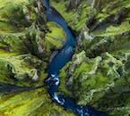 Фьадраургльювур - один из самых живописных каньонов Исландии.