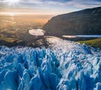 Skaftafell is a perfect mixture of glaciers, lush vegetation and mountain peaks.