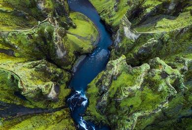 Circuit été autour de l'Islande en 7 jours | Route circulaire et vol depuis Akureyri