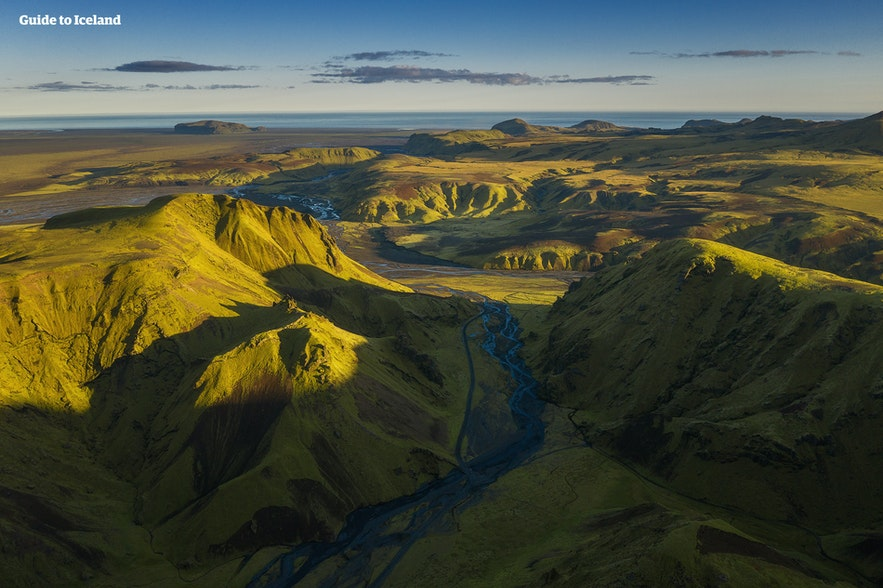 只有夏天才可以拍摄出来的冰岛中央内陆高地美景