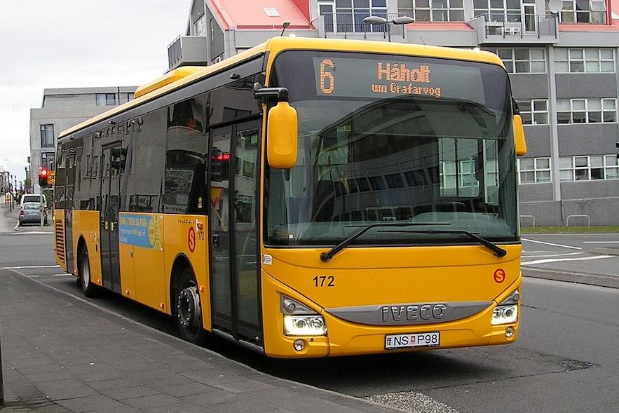 冰島公共巴士Straeto