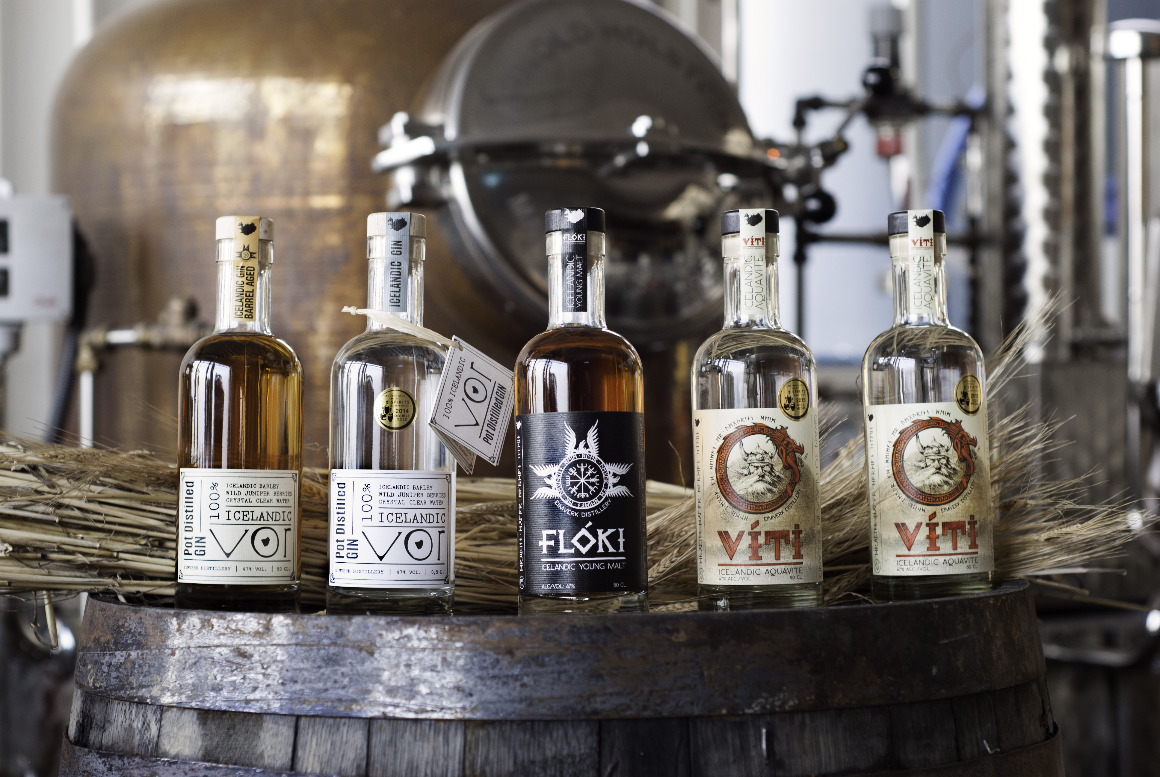 Try Icelandic spirits with a tour of a distillery.