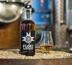 Icelandic whiskey made from Icelandic ingredients.