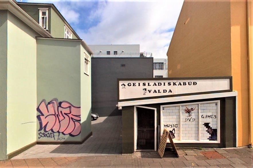Geisladiskabud Valda is an eclectic shop in Reykjavik.