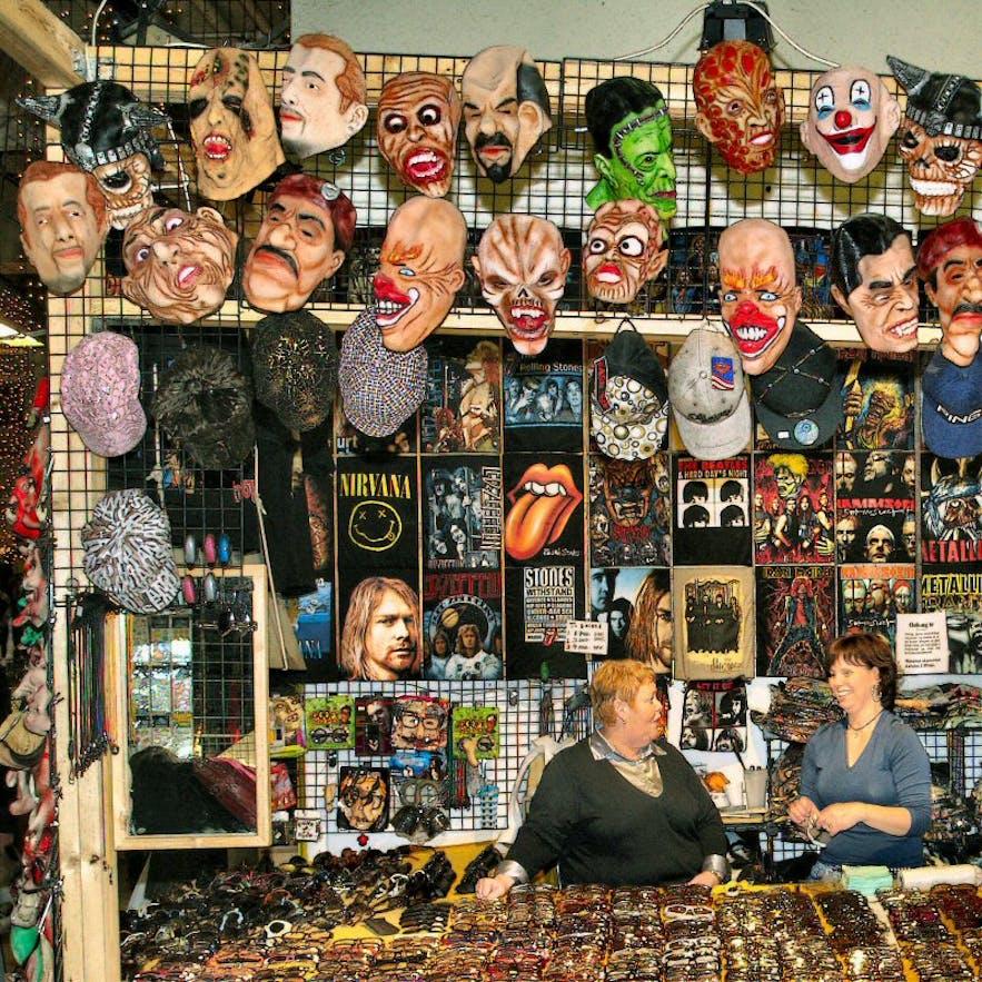 Kolarportid is Reykjavik's bustling flea market