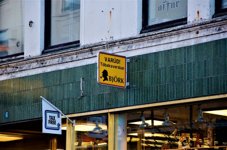 Bjork is a popular tobacconist in Iceland.