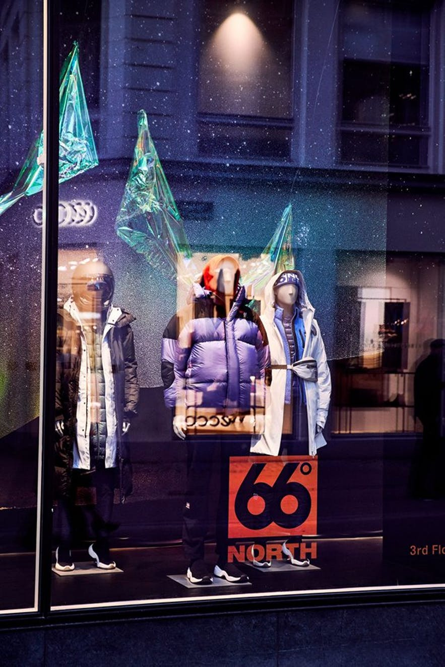 66 North is a clothing brand that specialises in fighting off Iceland's cold weather.