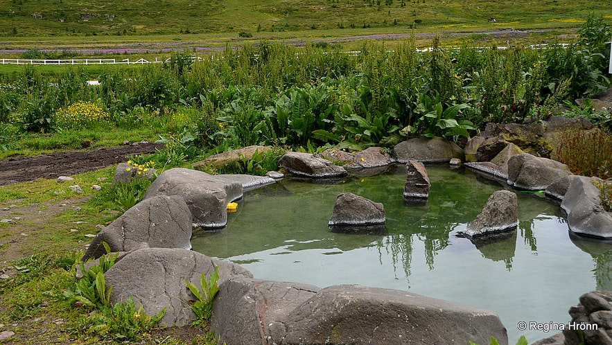 Heydalur hot pools in the Westfjords