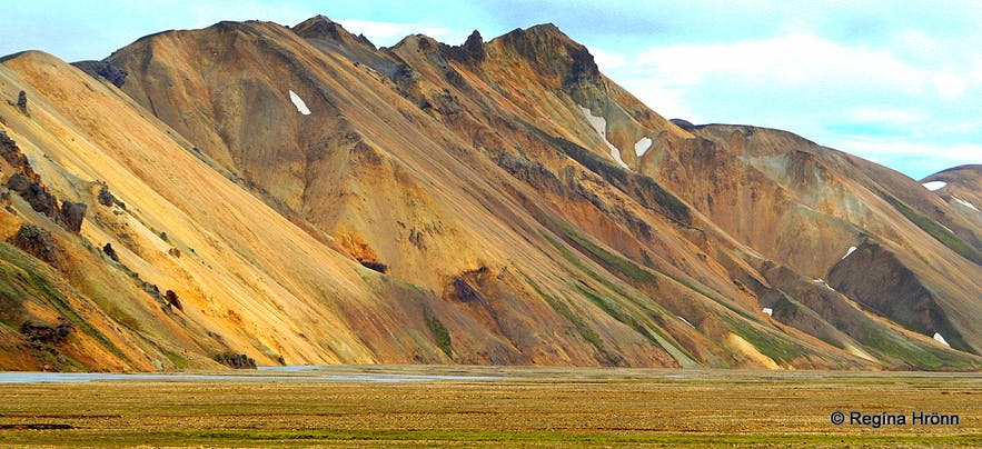 Landmannalaugar the Pearl of the Central Highlands of Iceland