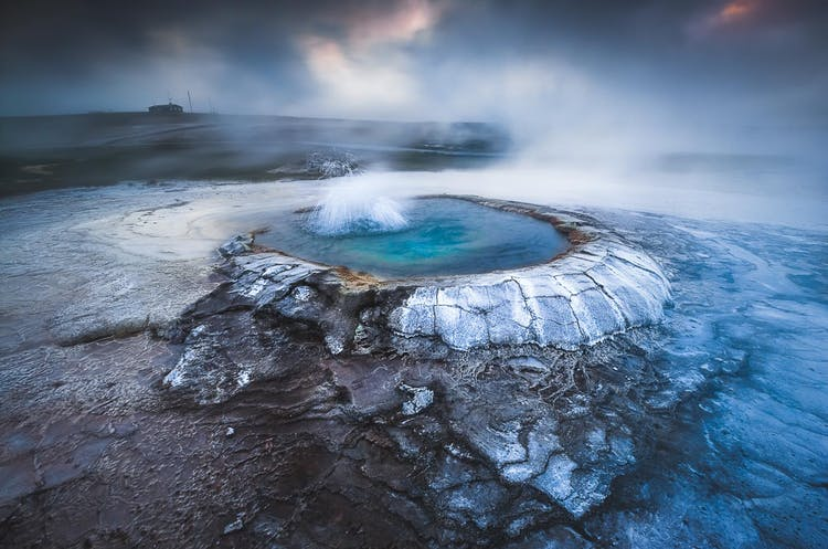 Hveravellir 地热区是冰岛中央高地最受欢迎的其中一个景点