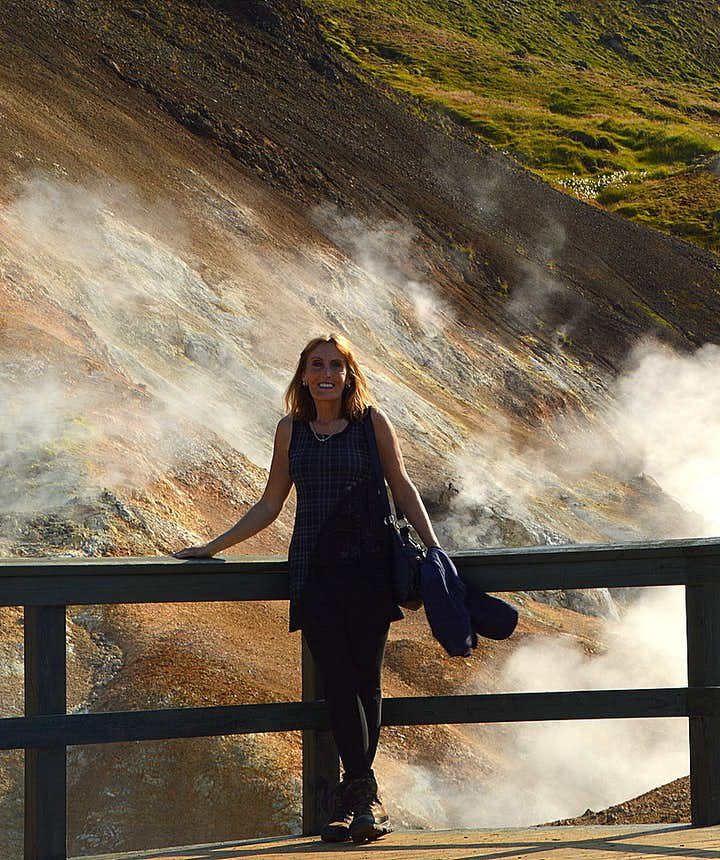 Regína at Nesjavellir geothermal area