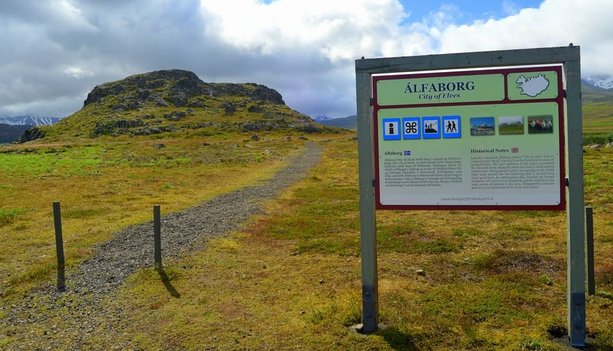 Alfaborg is steeped in Iceland's folklore.