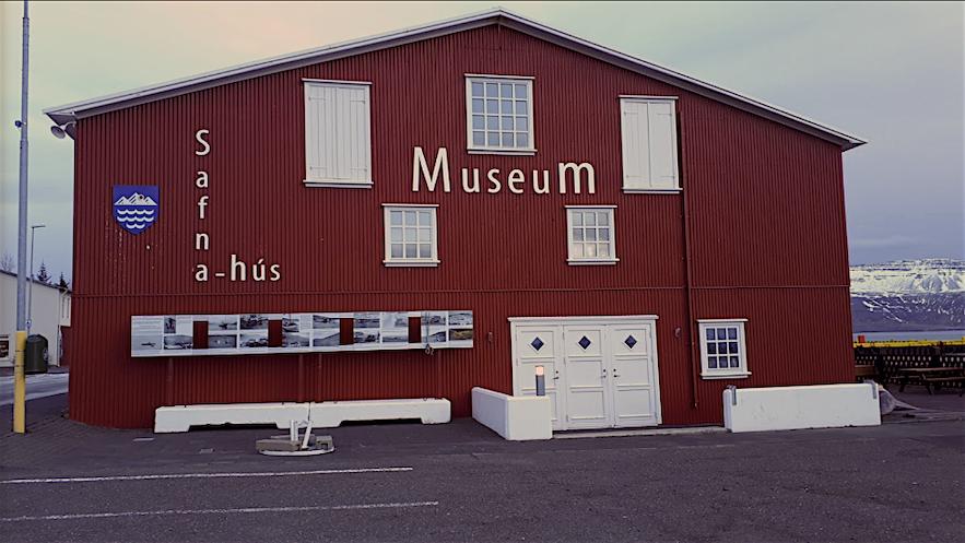 Muzeum w Neskaupstadur, islandzkie Fiordy Wschodnie.