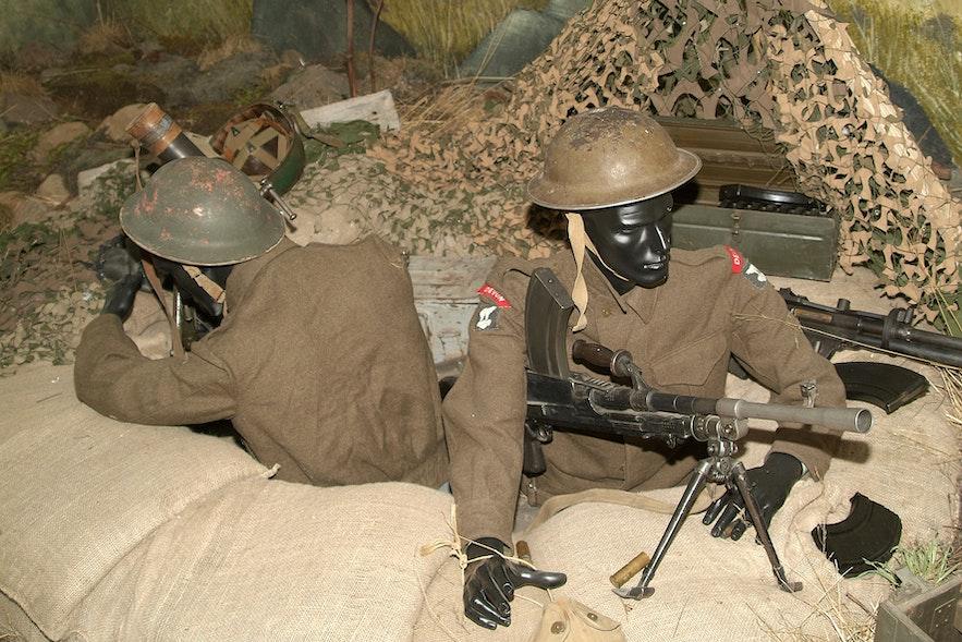 Muzeum Wojny na Fiordach Wschodnich.