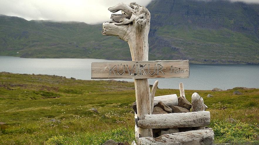 Kúvíkur at Strandir Westfjords