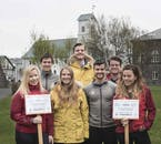Friendly, local guides will lead your walking tour of Reykjavík.