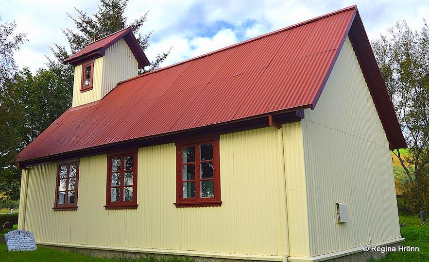 Haukadalskirkja church South-Iceland