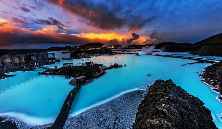 The beautiful, healing waters of the Blue Lagoon
