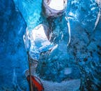 Visite d'une grotte de glace au Vatnajökull   Départ de Jokulsarlon