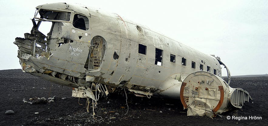 The Wreck of the Abandoned Plane on Sólheimasandur has become a Landmark in South-Iceland