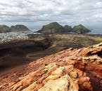 The Westman Islands are famous for their volcanic character; the most famous volcano is Eldfell which devastated the island in 1973.