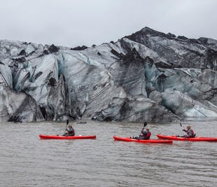 Tour a la Costa Sur | Kayak en la laguna glaciar | Visita al accidente del avión DC-3
