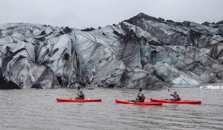 Tour a la Costa Sur   Kayak en la laguna glaciar   Visita al accidente del avión DC-3