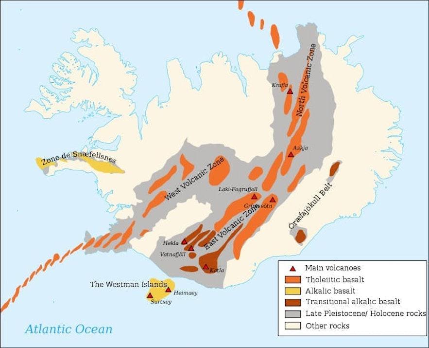 Aktywnośc geotermalna na Islandii.