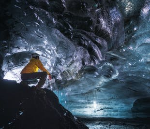 ถ้ำน้ำแข็งคัทล่า ด้วยซูเปอร์จี๊ปจากวิกในทางใต้ของประเทศไอซ์แลนด์