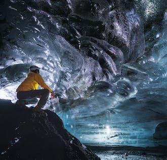 Ледяная пещера из