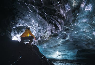 Tour a la cueva de hielo en Katla | Salida desde Vík en súper jeep