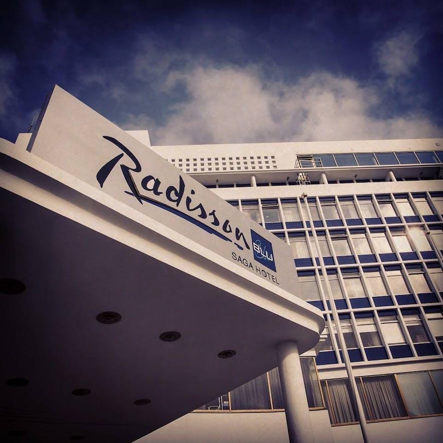 The Radisson Blu Saga Hotel is a popular business hotel.