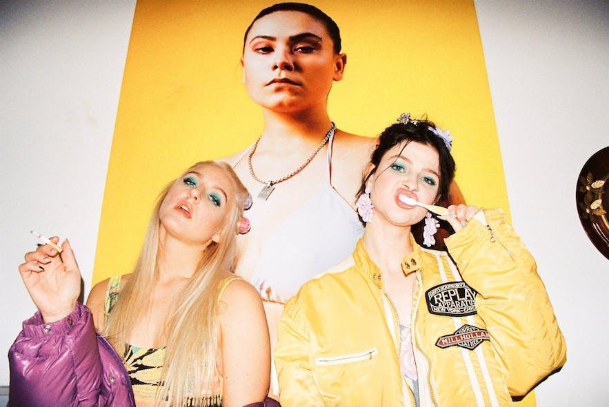사이버 또한 아이슬란드 힙합 씬을 이끌어간 여성 랩퍼들 중 하나예요.