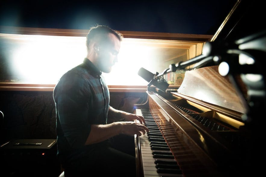 Ásgeir is one of the most popular folk artists in Iceland with over 70 million streams on Spotify.