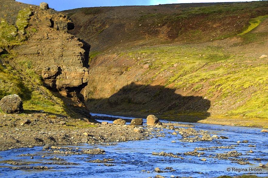 Blákvísl - Blue branch river